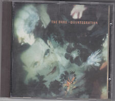 "CD THE CURE ""Disintegration"""