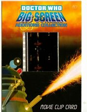 Dr Doctor Who Big Screen Additions Movie Clip Card /S - Doctor,Susan & Daleks