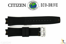 Citizen Eco-Drive BM6900-07E Original 23mm Black Rubber Watch Band CA0200-03E