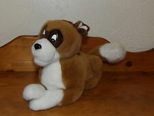 "RARE 12"" Douglas Co NESTLE Food Company Plush Brown & White DOG"