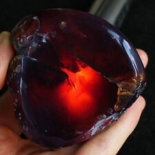 79.1g 100%Natural Polished Mexican Blue Amber Collection Rough Specimen YPB272