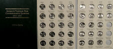 2010-2017 BU AMERICA THE BEAUTIFUL NATIONAL PARKS QUARTERS COMPLETE SET 37 COINS