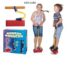 Kids Bungee Bouncer Space Jumping Exercise Balance Hopper Pogo Jump Toy Gifts
