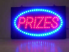 Prizes for Arcade Gameroom Window OPEN  LED sign  neon