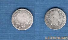 Premier Empire, 1804 – 1814 – Demi Franc revers République 1808 BB Strasbourg B