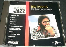 BILL EVANS THE ROMANTIC JAZZMAN  CD LES GENIES DU JAZZ / V