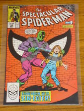 SPIDERMAN SPECTACULAR #136 VOL1 MARVEL COMICS MARCH 1988