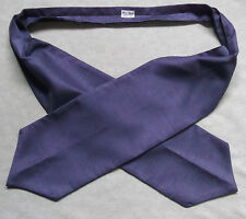 MENS CRAVAT LAVENDER PURPLE FORMAL WEDDING RETRO MOD VINTAGE DANDY DAPPER