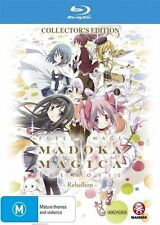 Puella Magi Madoka Magica the Movie -Rebellion Blu-ray Discs NEW