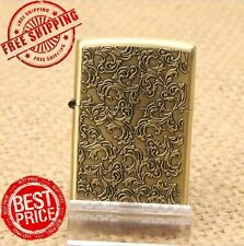 New Golden EARTH Lighter Pattern Features oil fluid Free Shipping Gift HOT Sell