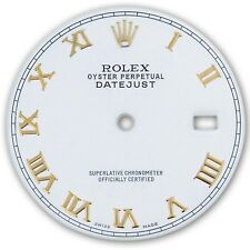 Rolex Mens Datejust 2 Two Tone White Roman Numeral Dial
