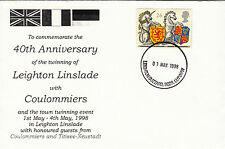 (26658) CLEARANCE GB Cover Leighton Linslade Coulommiers - Leighton Buzzard 1988