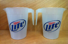 Miller Lite Beer Pitcher - Set of 2 - Free Shipping