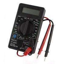 DT-830D AC DC voltaje de corriente HFE multímetro digital LCD de resistencia