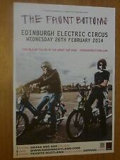 The Front Bottoms Edinburgh 2014 tour concert gig poster