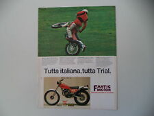 advertising Pubblicità 1978 MOTO FANTIC TRIAL 125