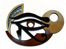 SALE!! Unique Mythical Wood Wall Sculpture - The Eye of Horus - Egyptian Art