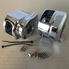 Chrome Switch Housing Cover Suzuki Gsxr600 Gsxr750 Gsxr1000 Hayabusa Gsxr1300