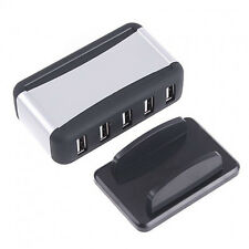 7-Port HUB High-Speed Mini Real USB 2.0 Powered + AC Adapter Cable HOT SALE