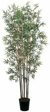 Nearly Natural 5022 Bamboo Silk Tree- 6-Feet- Green NEW