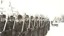 WWII German RAD RP- Reichsarbeitsdienst- Winter- Overcoat- Marching with Shovels