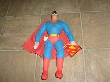 "DC 2 SUPERMAN ANIMATED & DC JLA COMIC PLUSH 14"" FIGURE W/ TAG Justice Batman"