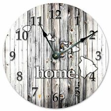 "HAWAII RUSTIC HOME STATE CLOCK - Large 10.5"" Wall Clock - 2219"