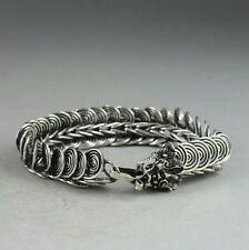 HOT Game of Thrones Dragon Bracelet Intricate Miao Silver Women Men Gothic Punk