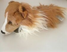 "Russ Yomiko Classics 13"" Collie Dog Plush Toy Stuffed Animal"