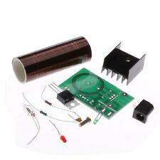 DC12V Mini Tesla Coil Arc Wireless Electric Power Transmission Lighting  DIY Kit
