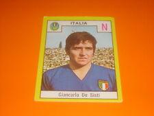 FIGURINE STICKERS ALBUM CALCIATORI RELI' 1969-70 ITALIA DE SISTI NEW-MAX