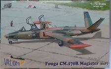 Fouga CM.170 R Magister (BAF),Belgische Version 1:72, Valom , *NEU*