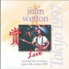 CD-John Wetton-Live in Tokyo , Mar-1999, Blueprint (USA))