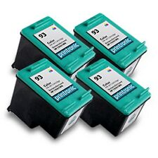 Reman HP 93 (C9361WN) Color Ink Cartridge for HP PhotoSmart C3180 C4180 4PK