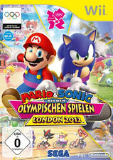 Nintendo Wii Spiel ***** Mario & Sonic London 2012 *******************NEU*NEW*55