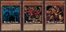 Yu-Gi-Oh ! Lot de 3 Dieux Egyptiens Obelisk, Slifer et Ra !! (LDK2) VF/ULTRA