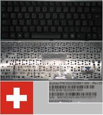 Clavier Qwertz Suisse MSI Wind U90 U100 E1210 V022322BK1 S1N-1ECH251-SA0 Noir