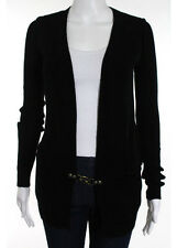 NWT SOCIETY FOR RATIONAL DRESS Black Ribbed Buckle Detail Sweater Sz XS $100