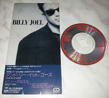 """CD BILLY JOEL - AND SO IT GOES - CSDS 8175 - JAPAN 3"""" INCH - SINGLE"""