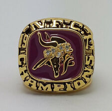 1973 Minnesota Vikings championship alloy ring Foreman size 11 Collection