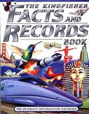 The Kingfisher Facts and Records Book: The Ultimate Information Database, , Good