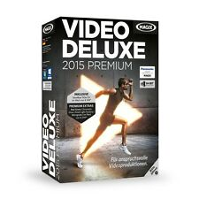 MAGIX Video deluxe 2015 Premium - NEU & OVP