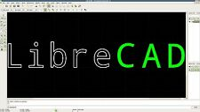 LIBRECAD AUTOCAD 2D CAD SOFTWARE WINDOWS XP/VISTA/7/8 PC