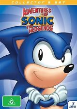 Adventures Of Sonic The Hedgehog (DVD, 2013, 7-Disc Set)