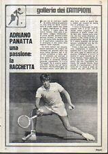 MA111-Clipping-Ritaglio 1971 Adriano Panatta