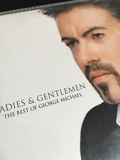 George Michael Rare Uk Promo Cd Ladies & Gentlemen 10 Track Card Sleeve Best Of
