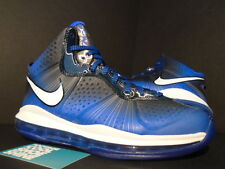 2011 Nike Air Max LEBRON VIII 8 V/2 ALL-STAR TREASURE BLUE WHITE BLACK NEW 10.5