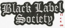 Black Label Society - Logo patch - FREE SHIPPING