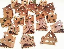 24pc Foraging Card Crumbles Bird Parrot Toy Part craft parrot cage toys cages