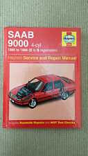 SAAB 9000 4-cyl 1985 to 1998 (c to s reg) HB service repair